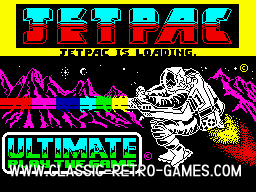 Jetpac screenshot ripped from www.classic-retro-games.com
