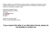 Solicitor's Regulation Authority reply p3